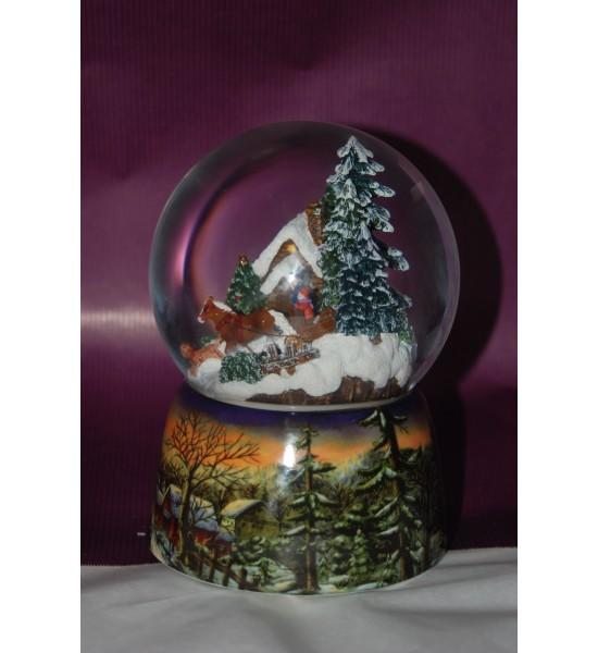 Boule neigeuse winter wonderland