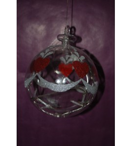 Hearts ball 15 cms