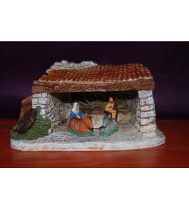 Nativité et étable