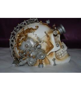 Crâne steampunk Alchemy
