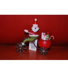 Père Noël en Tricycle