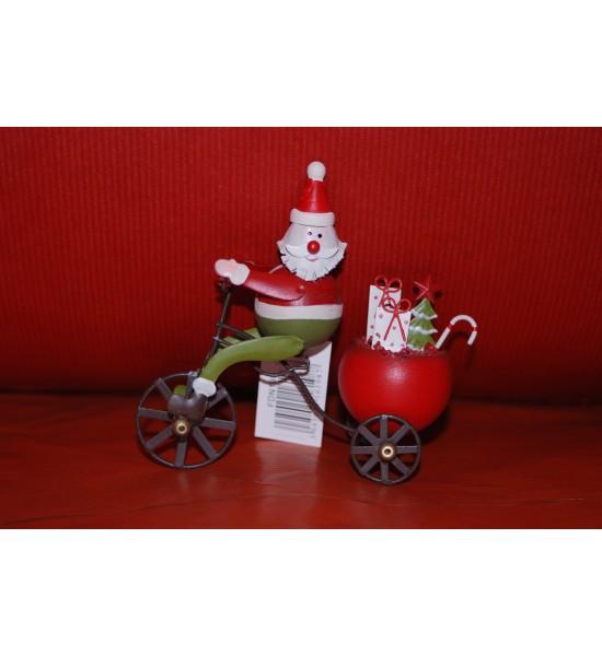 Père Noël en Tricycle