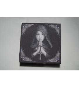 Boite prière gothique