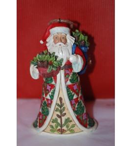 Pin Cone Santa