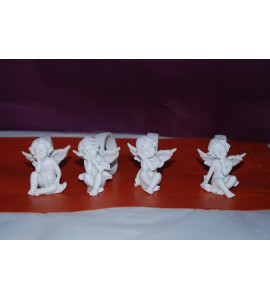 Ronds de serviette anges