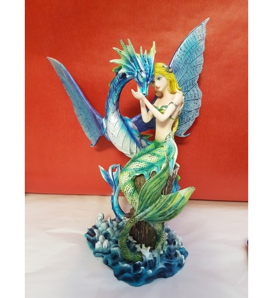 Sirène et Dragon