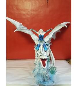 Fée sur Dragon Blanc