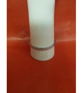 Bracelet Tressé en Argent