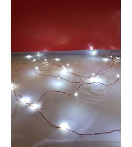 Guirlande 120 LEDS Micro sur Fil de Cuivre
