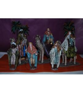 Rois mages sur chameaux