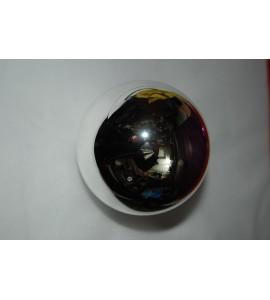 Set de 3 boules argent brillantes
