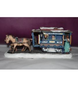 Tramway avec chevaux