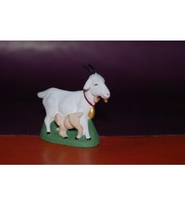 La chèvre blanche et chevreau