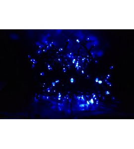 Guirlande leds bleus