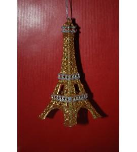 Tour Eiffel dorée