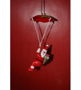 Père Noël en Parachute
