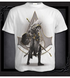 T Shirt ORIGINS - BAYEK WHITE