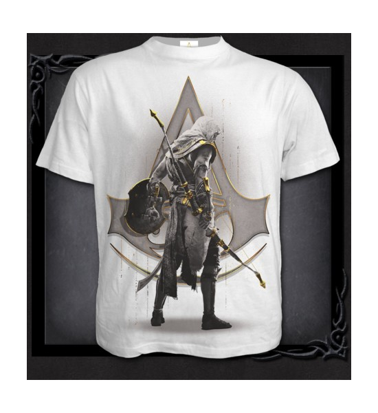 T Shirt ORIGINS - BAYEK WHITE
