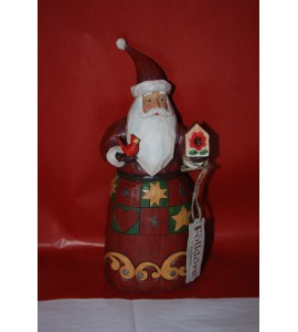 Santa with  Bird House