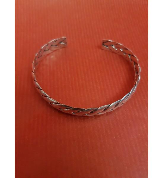 Bracelet en Argent Tressé