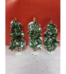 Set de Trois Sapins Lumineux