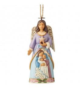 Ange avec Saint Famille