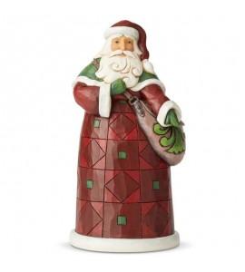 Père Noël avec Besace