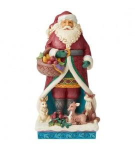 Père Noël et Animaux