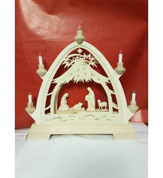 Nativité sous Arche