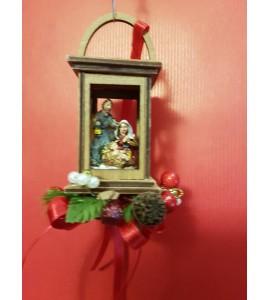 Lanterne avec la Nativité