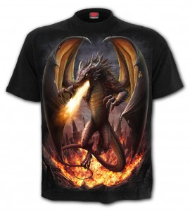 T Shirt Draco Unlished