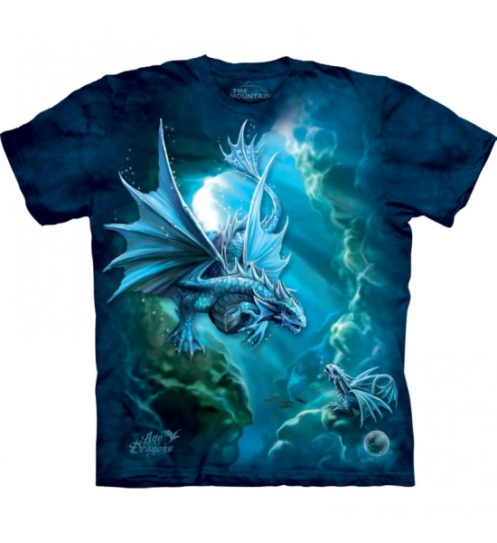 The Mountain Sea Dragon Fantasy Anne Stokes T Shirt