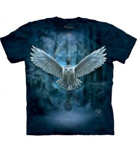 The Mountain Awake Your Magic Gothic Owl Anne Stokes T Shirt