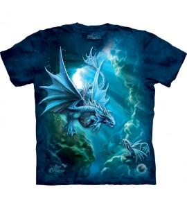 The Mountain Sea Dragon Fantasy Anne Stokes T Shirt