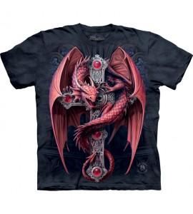 The Mountain Gothic Guardian Dragon Anne Stokes T Shirt