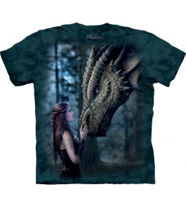The Mountain Once Upon a Time Dragon Anne Stokes T Shirt