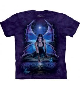 The Mountain Immortal Flight Fairy Anne Stokes T Shirt