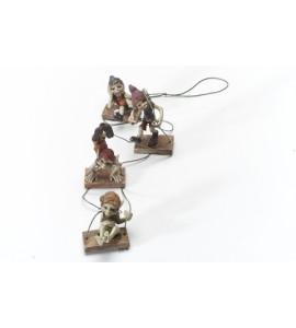 4 Pixies sur une Corde
