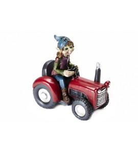 Pixie en Tracteur