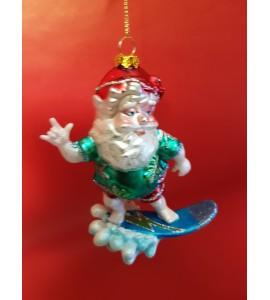 Père Noël Surfeur