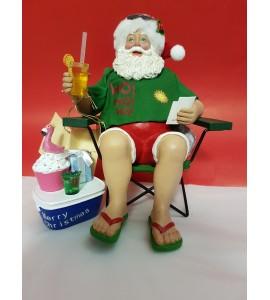Père Noël à la Plage