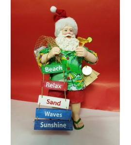 Père Noël Hawaïen