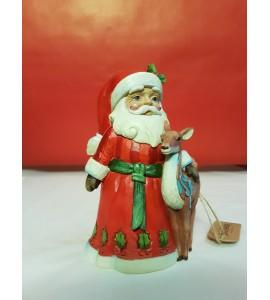 Père Noël avec Biche
