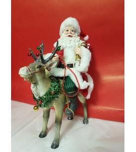 Père Noël sur Renne
