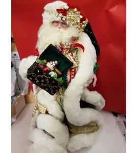 Le Père Noël avec un Coffret