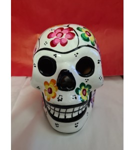 Crâne Mexicain Blanc
