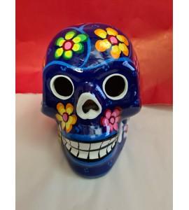 Crâne Mexicain Bleu