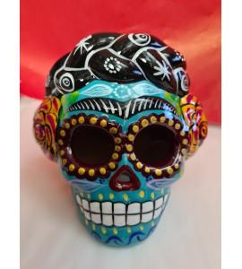 Crâne Frida Turquoise