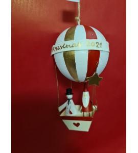 Père Noël et Bonhomme de Neige en Ballon 2021