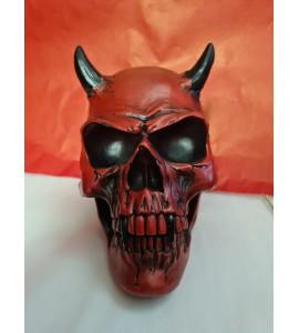Crâne Demon Crimson